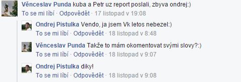 Ondrův report