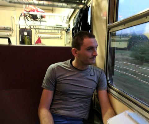 Ve vlaku do Třince